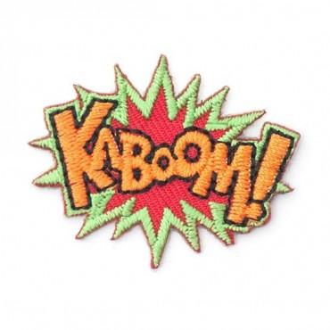 "Stick On ""Kaboom"" Patch"