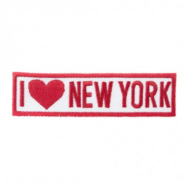 "Iron On ""I Love New York"" Patch"