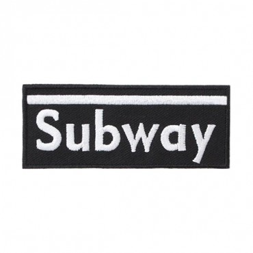 Iron On Subway Patch