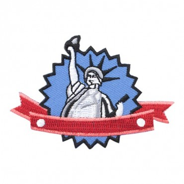 Iron On Statue of Liberty Patch
