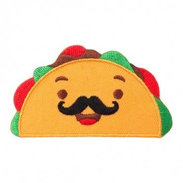 Taco w/ Mustache Patch