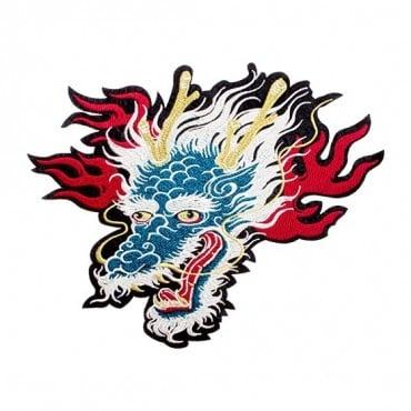 Iron On Dragon Head Patch