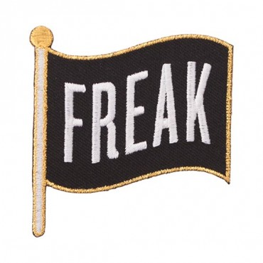 "Iron On ""Freak"" Flag Patch"