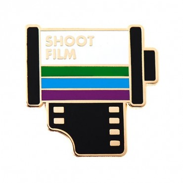 """Shoot Film"" Pin"