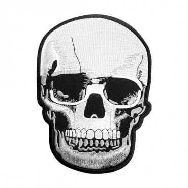 Iron On Large Skull Patch