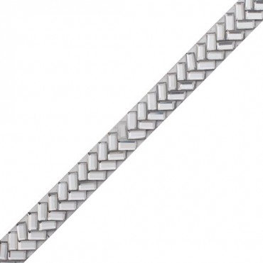 "3/8"" Chevron Iron-On Rhinestone Trim"