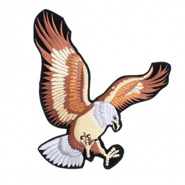 Iron On Attacking Eagle Patch
