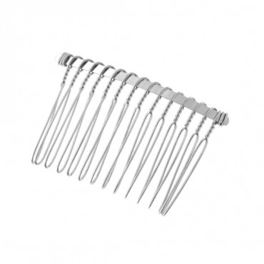 "2"" Metal Hair Comb"