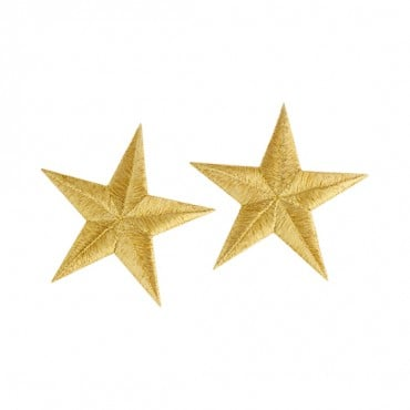 Iron On Embroidered Star Patches