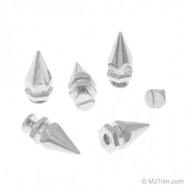 10MM X 16MM METAL SPIKES WITH SCREW