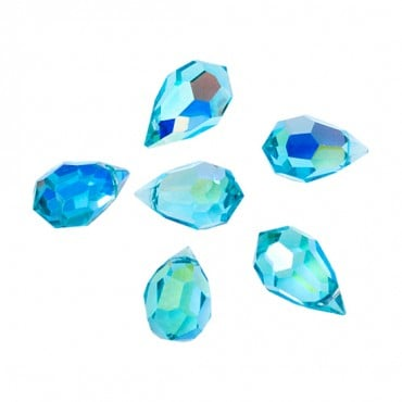 15MM X 9MM SWAROVSKI AB CRYSTAL DROPS