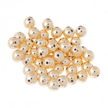 6MM FAUX PEARLS PKG