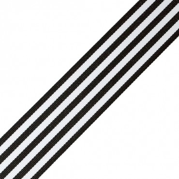 "1 1/2"" Striped Grosgrain Ribbon"