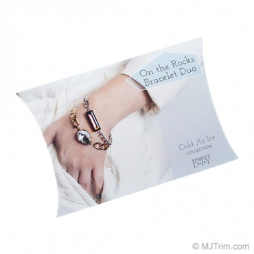 COLD AS ICE ON THE ROCKS BRACELET DUO