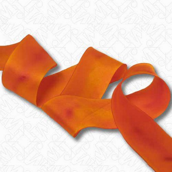 Dark Brown FOLD Over Weave Braid Rayon Ribbon Trim 5 Yds Foldover