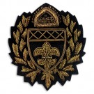 Sew On Bullion Crest Applique