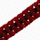 "1 3/8"" WOOL / CHENILLE BRAID"
