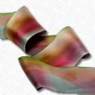 "5/8"" Hand Dyed Silk Satin Ribbon"