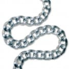 16 STRIATED METAL CHAIN