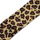 "1.5"" SINGLE FACE LEOPARD GROSGRAIN"