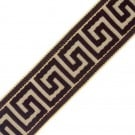 "2 3/8"" (60MM) Greek Key Jacquard"