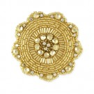 SUN DISC BEADED APPLIQUE#$#$#undefined