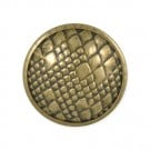 ANIMAL PRINT METAL BUTTON