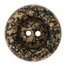 2-HOLE SPLATTERED COLOR THICK BUTTON