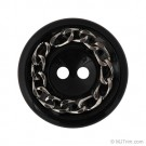 Chain Embellished Two-Hole Button