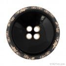 Four-Hole Button w/ Flower Rim