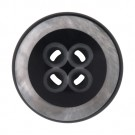 4-Hole Marbleized Rim Button