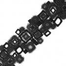 "2 1/2"" (64 MM) Mohair Geometric Trim"
