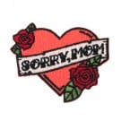 "Iron On ""Sorry, Mom"" Patch"