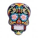 Black Sugar Skull Patch