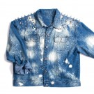 Studded Denim Jacket - Limited Edition - $249.99