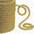 7MM FINE MATTE  METALLIC TWIST CORD