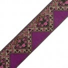 50MM Imported Wine Metallic Jacquard