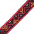17mm Beaded Jacquard Ribbon