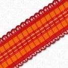 15mm Scallop Edge Wire Ribbon