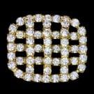 Rhinestone Quilt Button