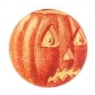 Jack O Lantern Button