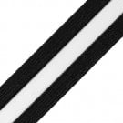"1 3/8"" TRANSPARENT STRIPED RIBBON"