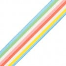 "7/8"" PASTEL STRIPED GROSGRAIN-PASTEL"