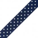 """7/8"""" Satin Polka Dots Ribbon"""
