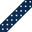 "1 1/2"" LARGE POLKA DOTS GROSGRAIN"