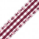"3/4"" FLOWER PLAID RIBBON"