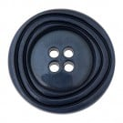 CONCENTRIC RIDGE FOUR HOLE BUTTON