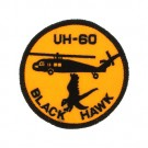 BLACK HAWK APPLIQUE