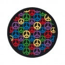 "3 1/4"" Mini Peace Signs Applique"