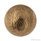 Metal Dome Ornate Button